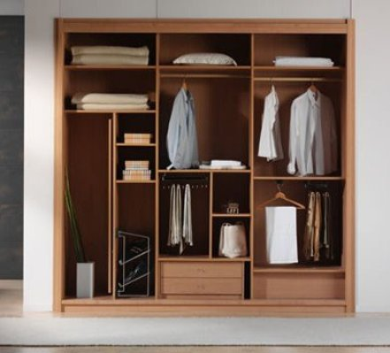 Furniture Minimalis Lemari Pakaian Modern Desain Gambar