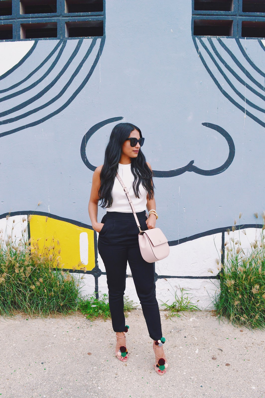 kate spade jumpsuit classic black and white womens fashion the fashionably late blog by aishly tromp