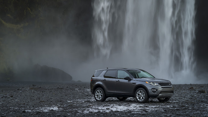 Wallpaper: Land Rover Discovery Sport