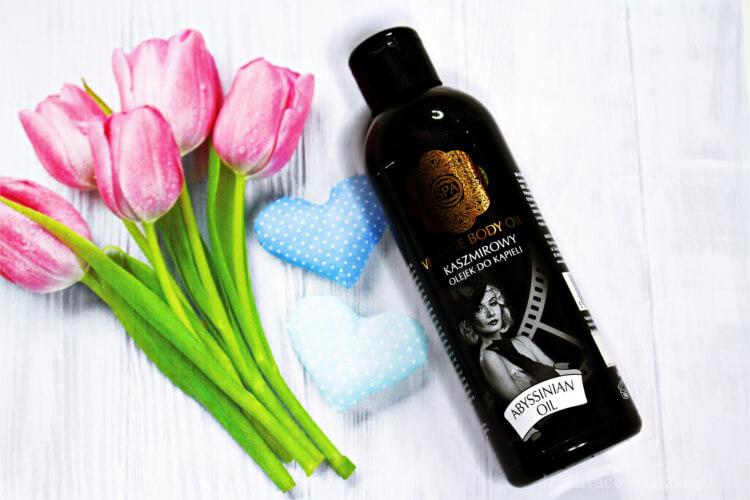 SPA Vintage Body Oil, Kaszmirowy olejek do kąpieli z olejem abisyńskim