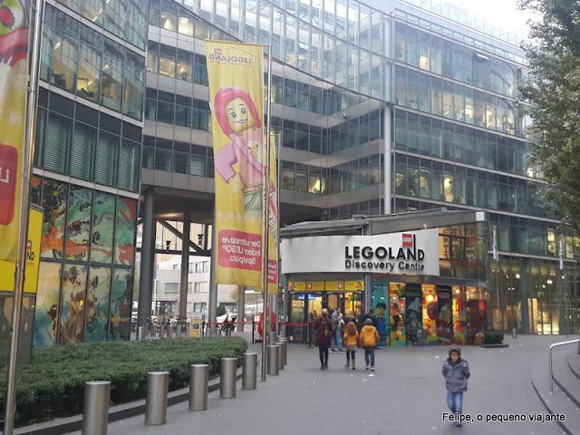 Legoland Discovery Centre em Potsdamer Platz, Berlim