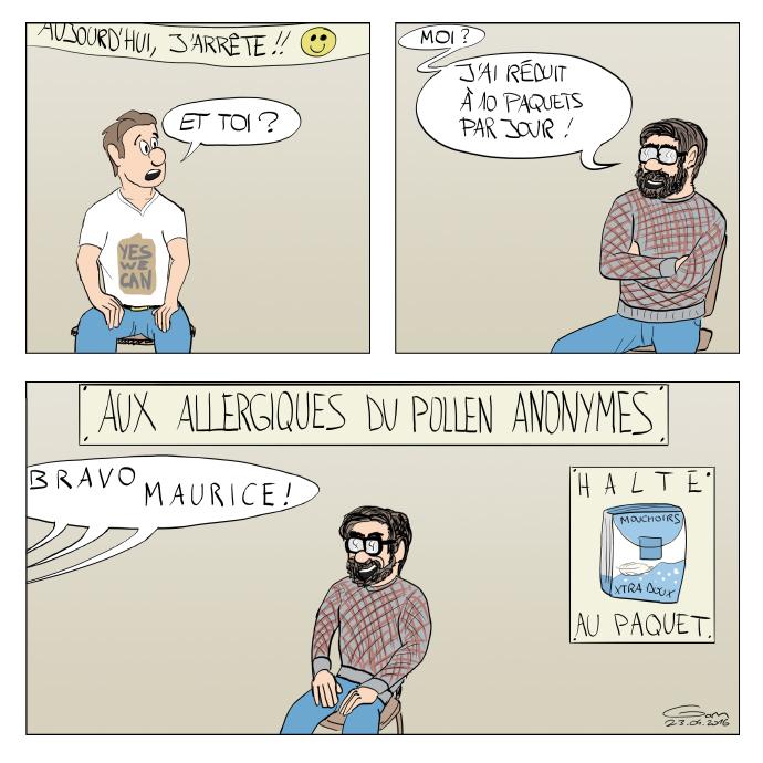 allergiques du pollen anonymes rhume des foins