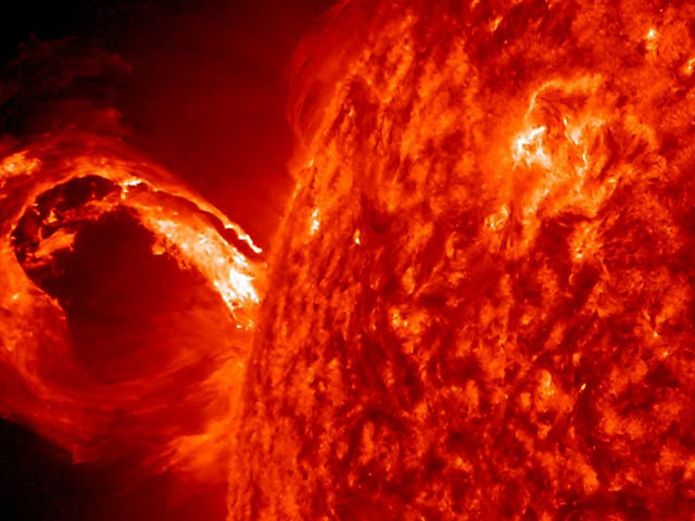 Violent young Sun may have seeded life on Earth