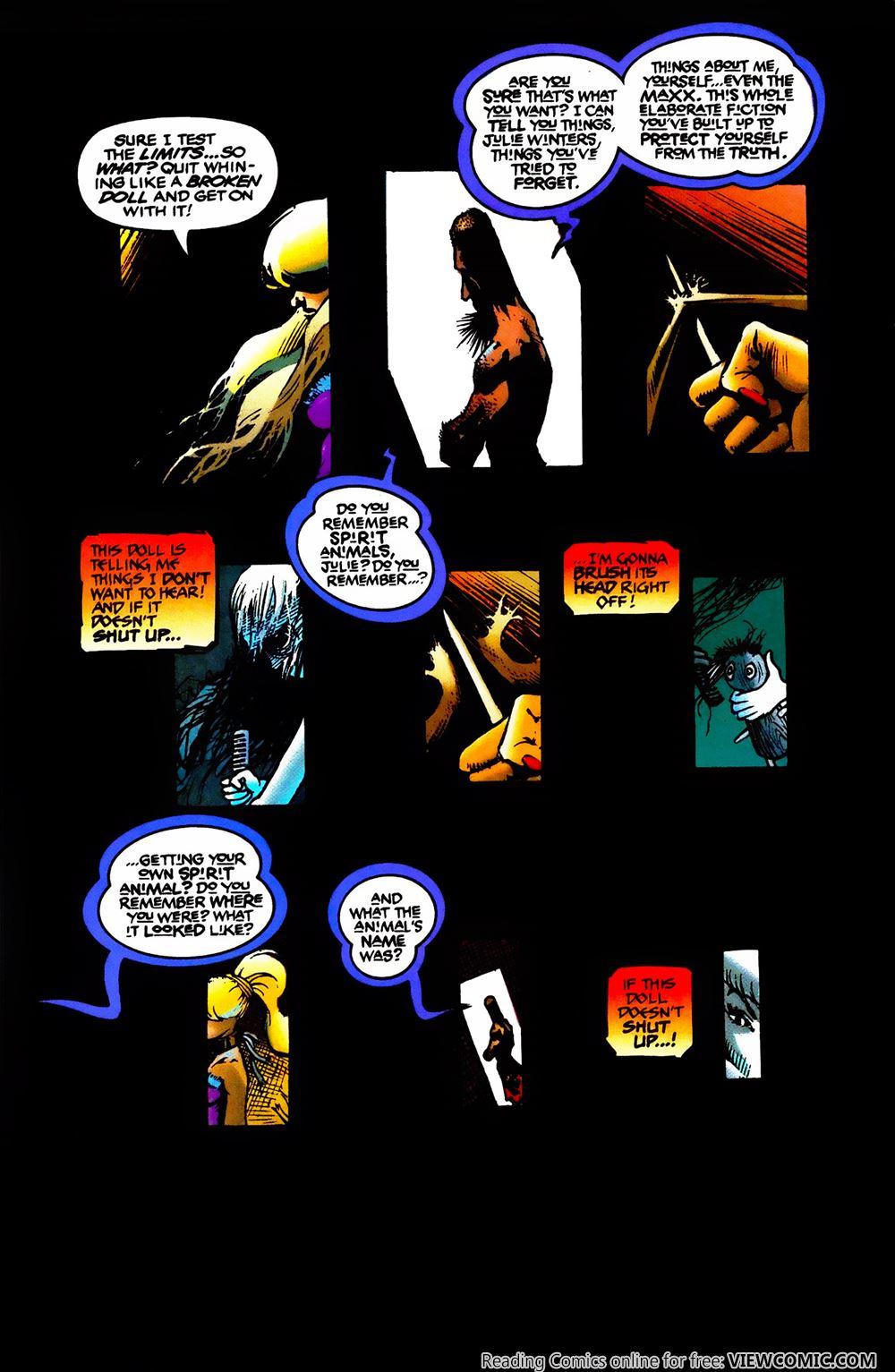 The MAXX Comic Image Comics No 1 Date 03//1993