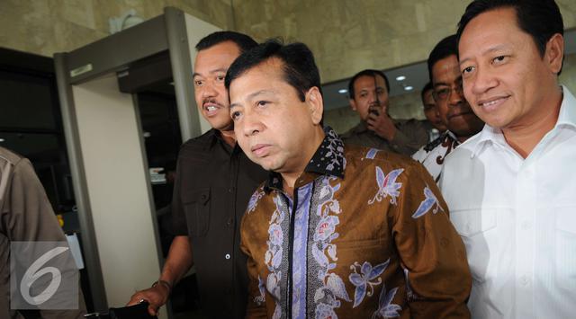 GMPG Ungkap Novanto Bertemu Ketua MA Sebelum Menang Praperadilan