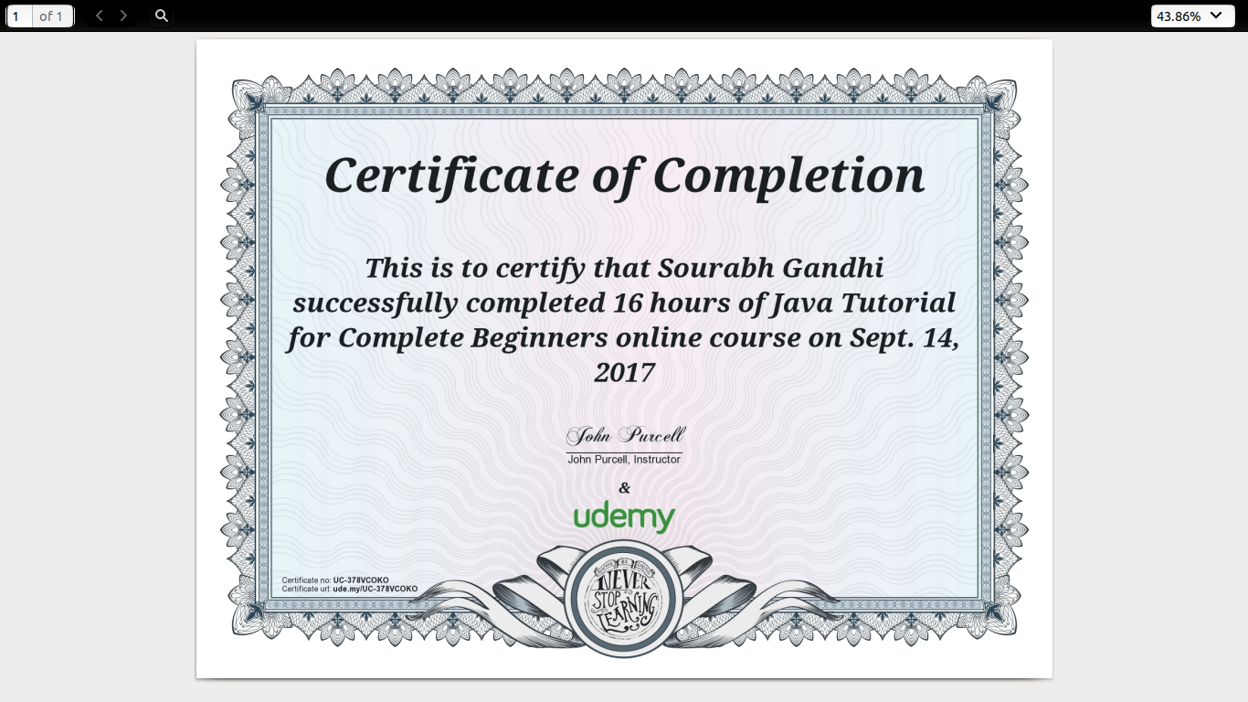 Digital Marketing Certificate Passion Code