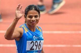 Dutee Chand won gold in 100m World Universiade