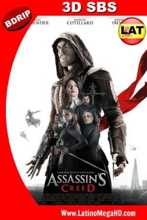 Assassins Creed (2016) Latino Full 3D SBS BDRIP 1080P ()