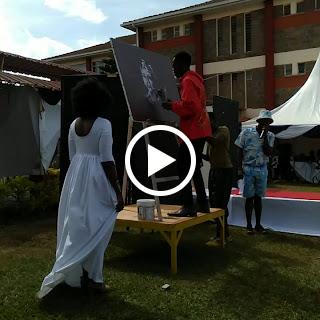 llewxam kenyan live painting artist