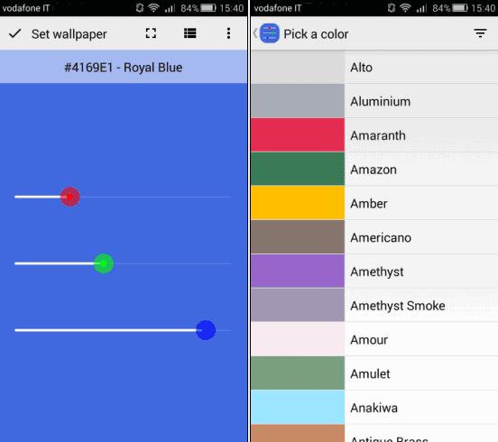 App Per Mettere Colori A Tinta Unita Come Sfondo Del