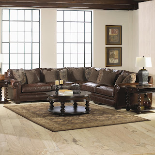 beautiful leather sectional sofa