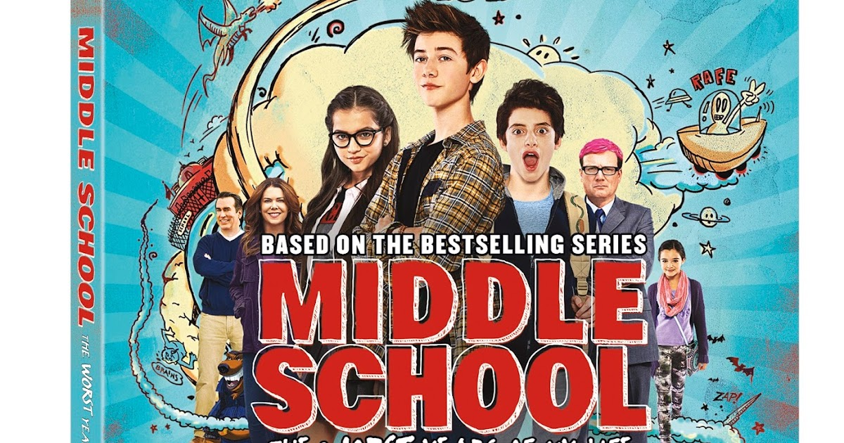 Middle School The Worst Years Of My Life On Blu Ray Jan 3 Middleschoolmovie Sponsored The