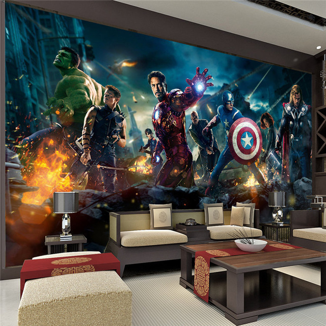 The Avengers Wall Mural Marvel