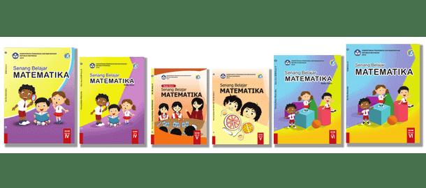 Buku Matematika Guru dan Siswa Kelas 4, 5, 6 Kurikulum 2013 Revisi 2018