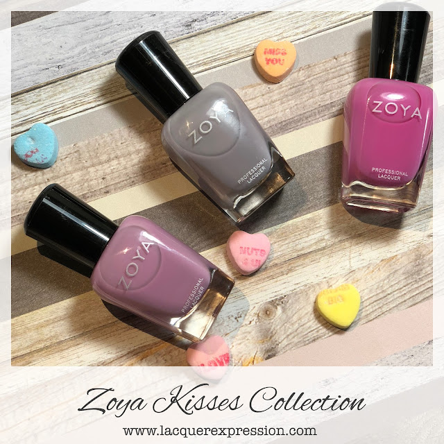 Swatch and Review of Zoya Vickie, Libby, and Princess from the Zoya Kisses Collection