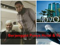 Sosok Berjenggot ini Layani Zakir Naik di Hotel Pribadi & Jet Pribadi, Harga 1 Jetnya Bikin Pingsan