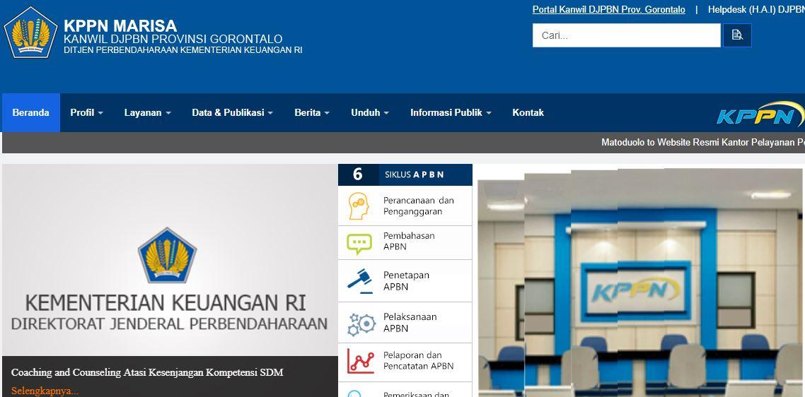 Alamat Lengkap Dan Nomor Telepon Kantor KPPN Di Gorontalo