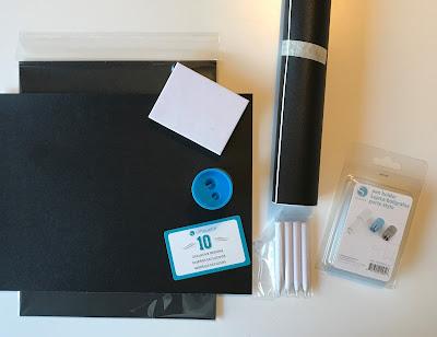 Silhouette Chalkboard Starter Kit - innehåll