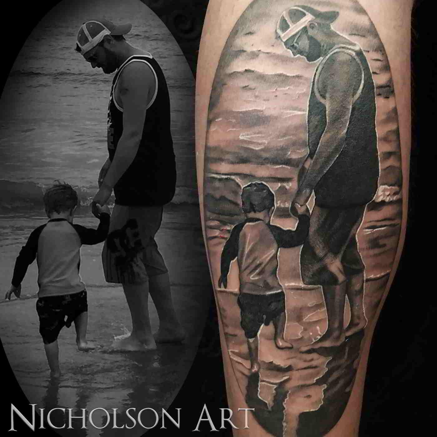 tatuajes de padres e hijos