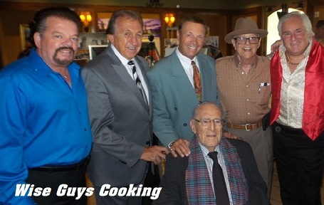 Cast of Wise Guys Cooking