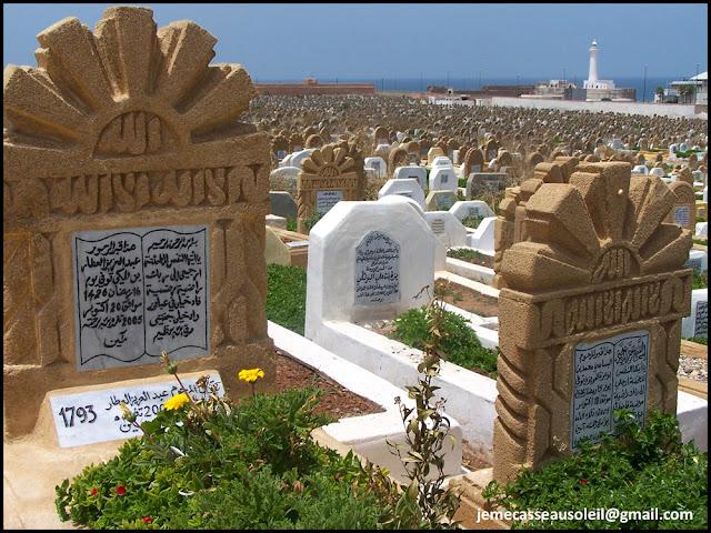 Le cimetière de Rabat