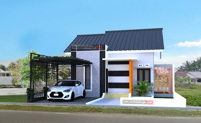 Desain Rumah Bpk Erfendi Jasa Desain Rumah