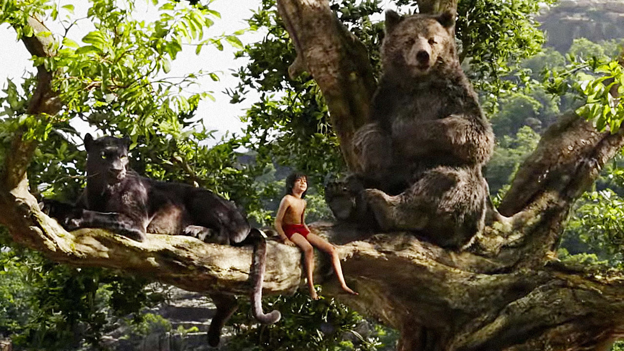 Screen shot The Jungle Book (2016) Bluray 720p