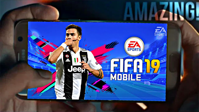 FIFA 19 Mobile Android Offline 900 MB New Faces,3rd Kits Best Graphics
