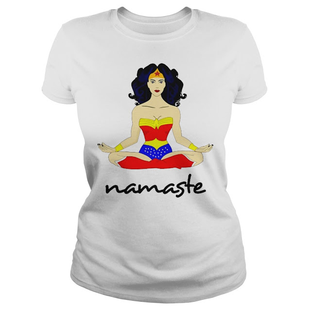 Wonder Woman Namaste T Shirts Hoodie Sweatshirt Tank Tops