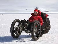 Maria Leijerstam, Manusia Pertama Bersepeda ke Kutub Selatan