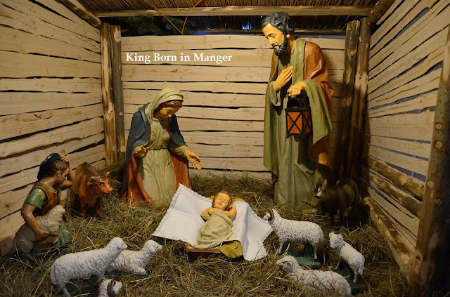 King Born in Manger