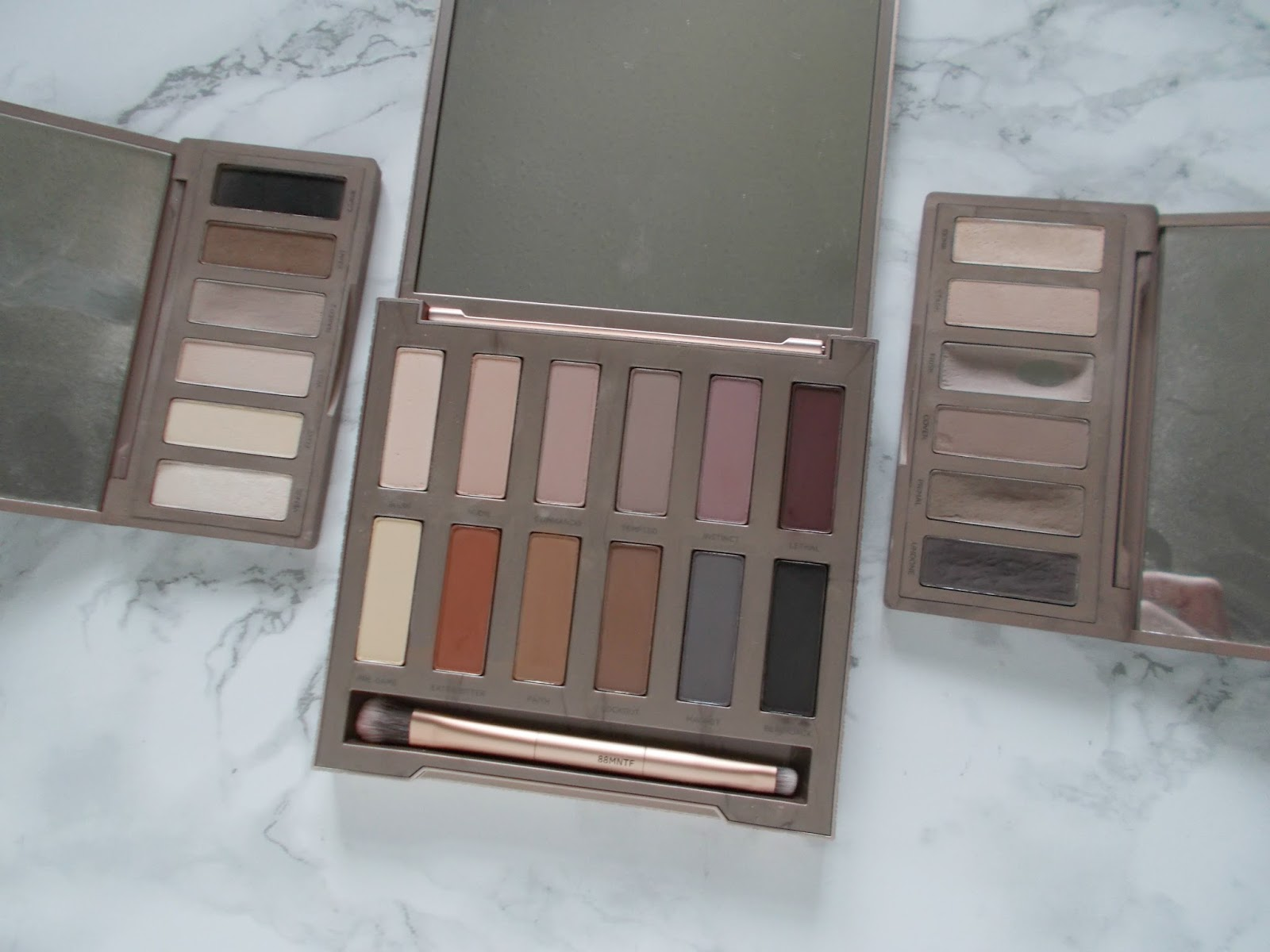 Urban Decay Naked palette Basics 1 2 Ultimate