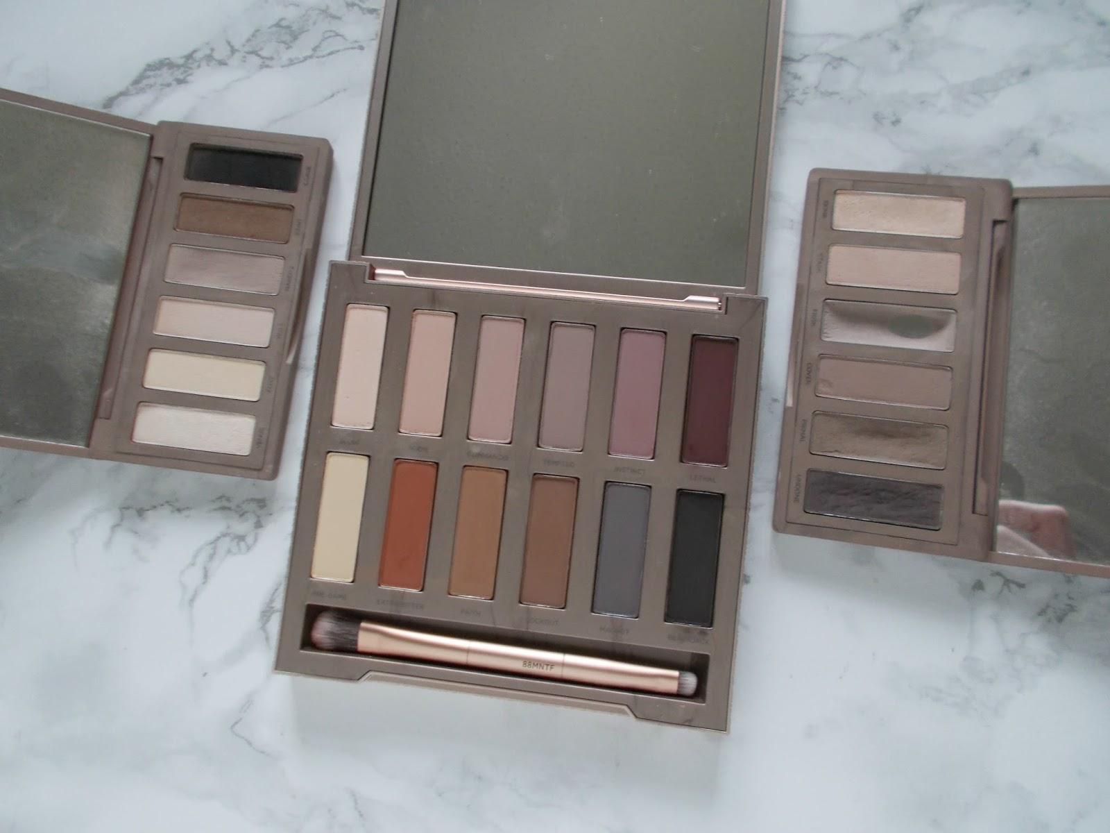 Urban Decay Naked palette Basics 1 2 Ultimate