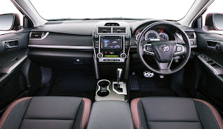 2017 Toyota Camry Redesign Australia and Canada Interior