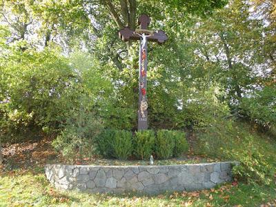 Wayside cross in Będargowo