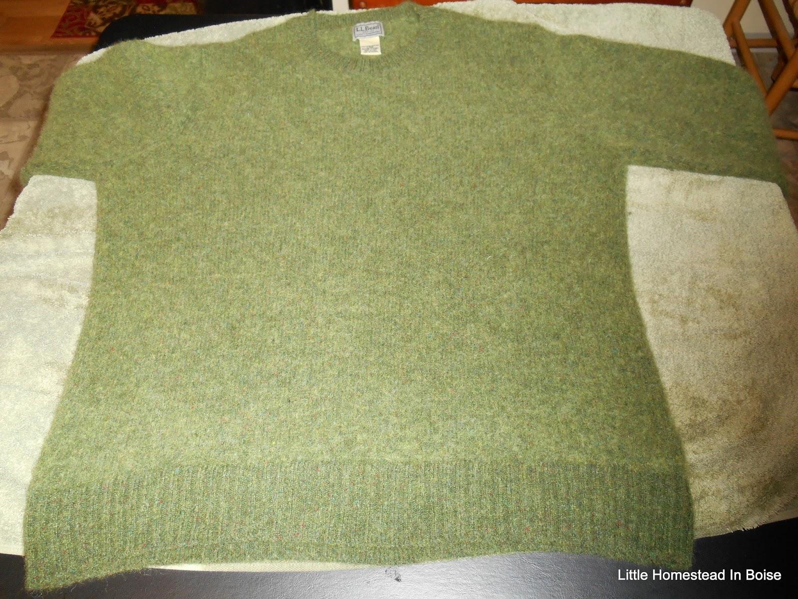 Little Homestead In Boise How To Unshrink A Wool Sweater Turkey