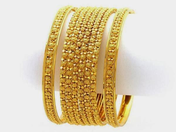 Latest Gold Bangles Design 2014 for women - Yoga Jasmine ...