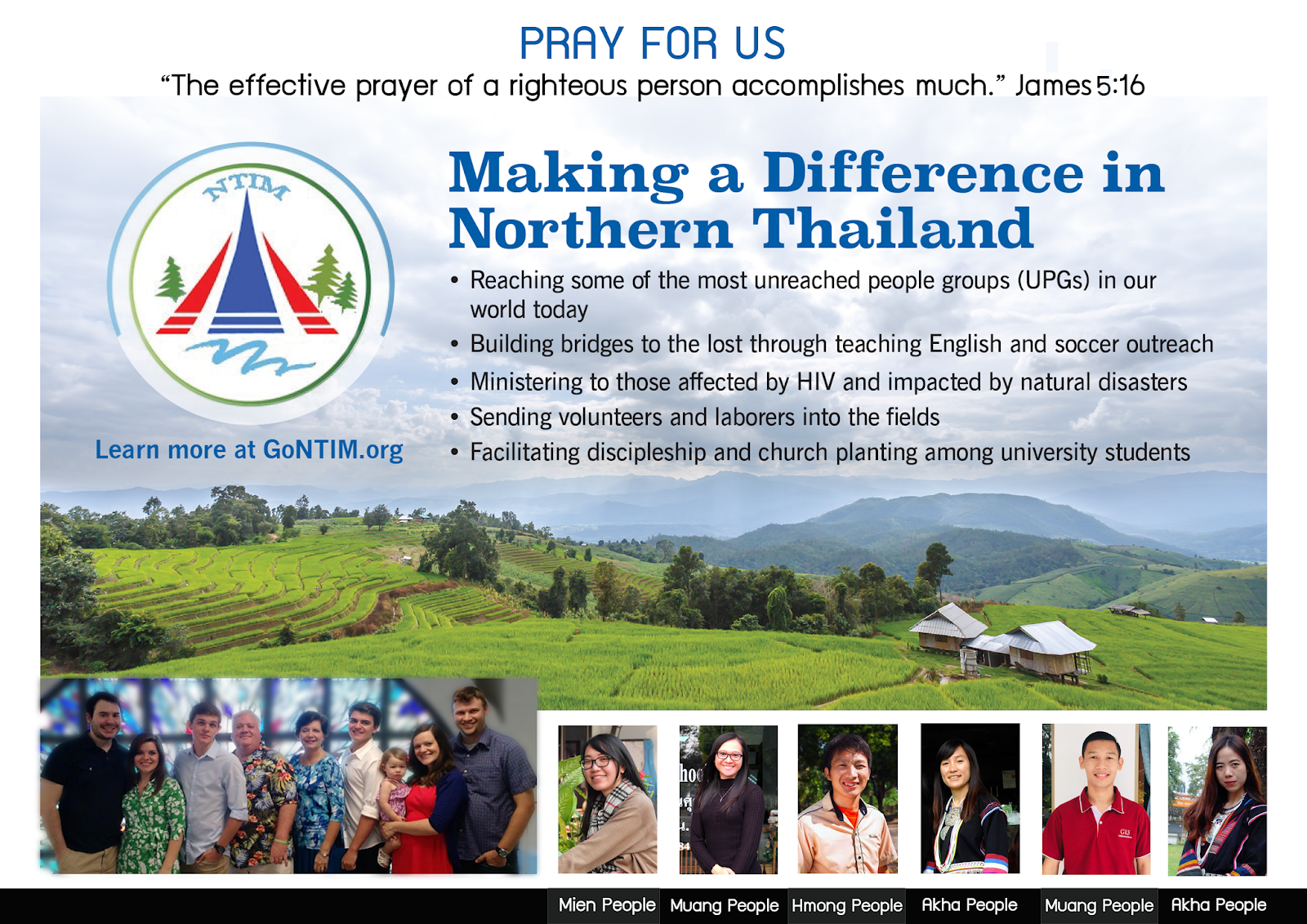 Joining God In His Work of Redemption in Thailand Through