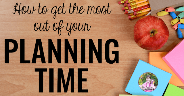 Your teacher planning time is short, and the list of tasks needing you attention is long. Check out these suggestions for making the most of your non-teaching planning time, and grab an exclusive free Planning Time Checklist to help you get organized today!