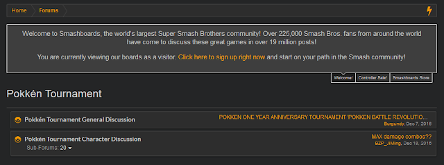 Pokkén Tournament Smashboards board forums Pokken section Smash Boards