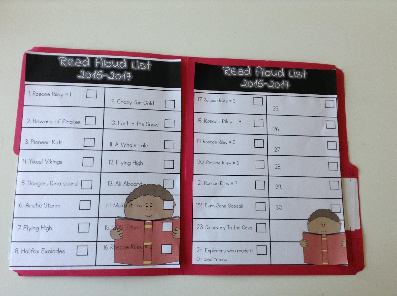 Teachermomplus3 1st Grade Independent Reading List