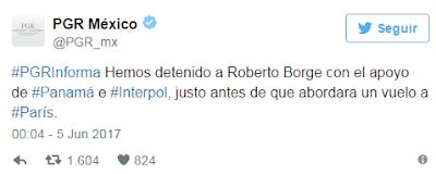 En Panama cae exgobernador de Quintana Roo Roberto Borge