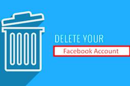 Erase Facebook Account Updated 2019