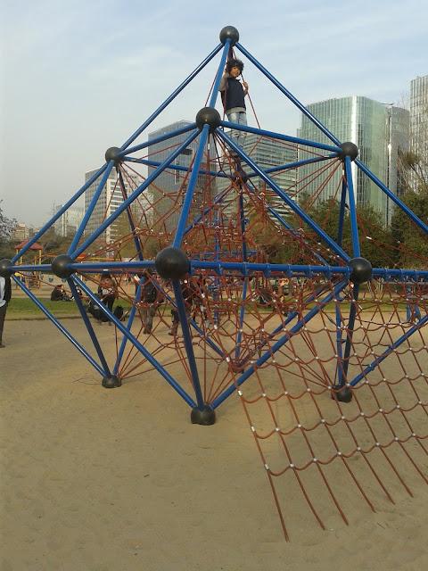 parque crianças Chile