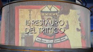 Il TG3 del Lazio ad Amaseno per il restauro del Trittico Ligneo del XIII° Secolo (video)