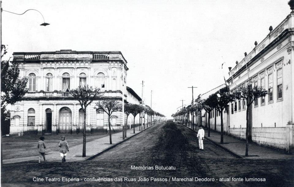 CENTRO DE PESQUISA E HISTÓRIA DE SÃO MANUEL: CINE TEATRO ESPÉRIA - BOTUCATU