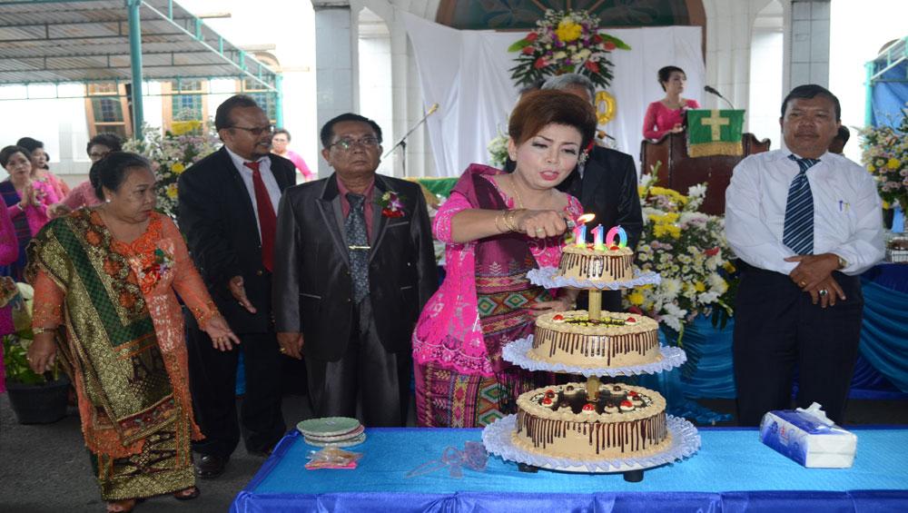 """Pesta HUT ke 110 Tahun HKBP Pematangsiantar! """"Tumbuh Menjadi Berkat Bagi Masyarakat"""""""