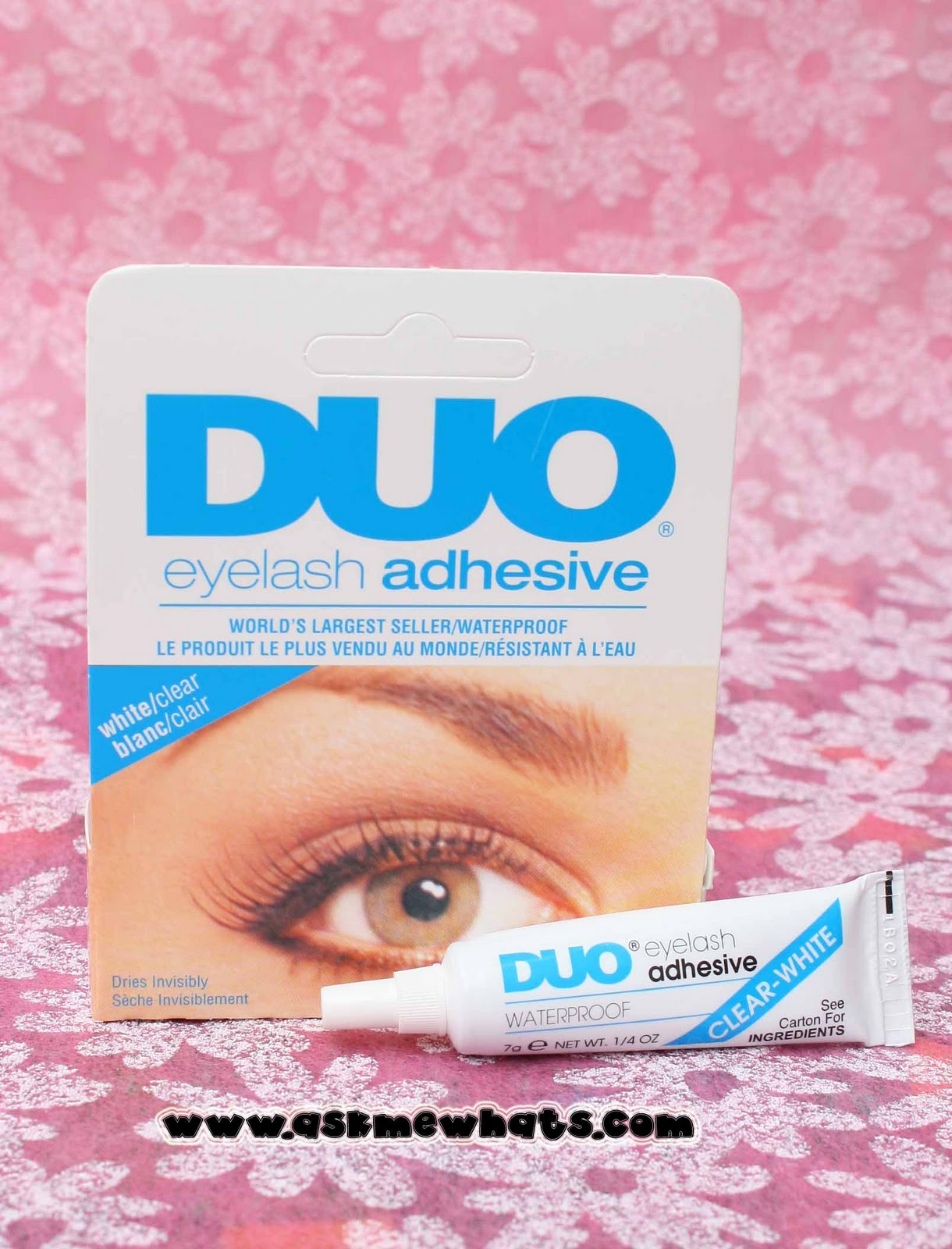b59f2b35e25 DUO Eyelash Adhesive right in front of me! I grabbed one right away! I do  apologize I forgot the exact price but it's definitely less than Php700.00!
