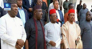 BREAKING: South-East Governors Ban IPOB Activities