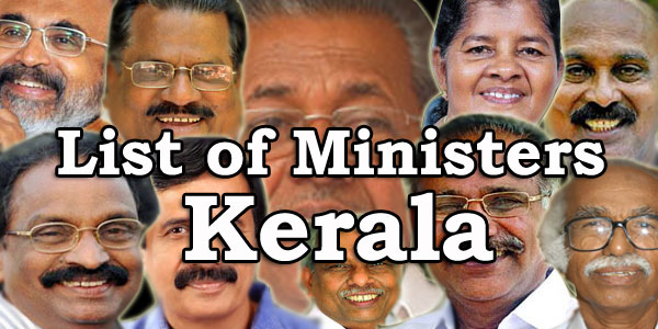 Kerala PSC - Chief Minister and Council of Ministers in Kerala